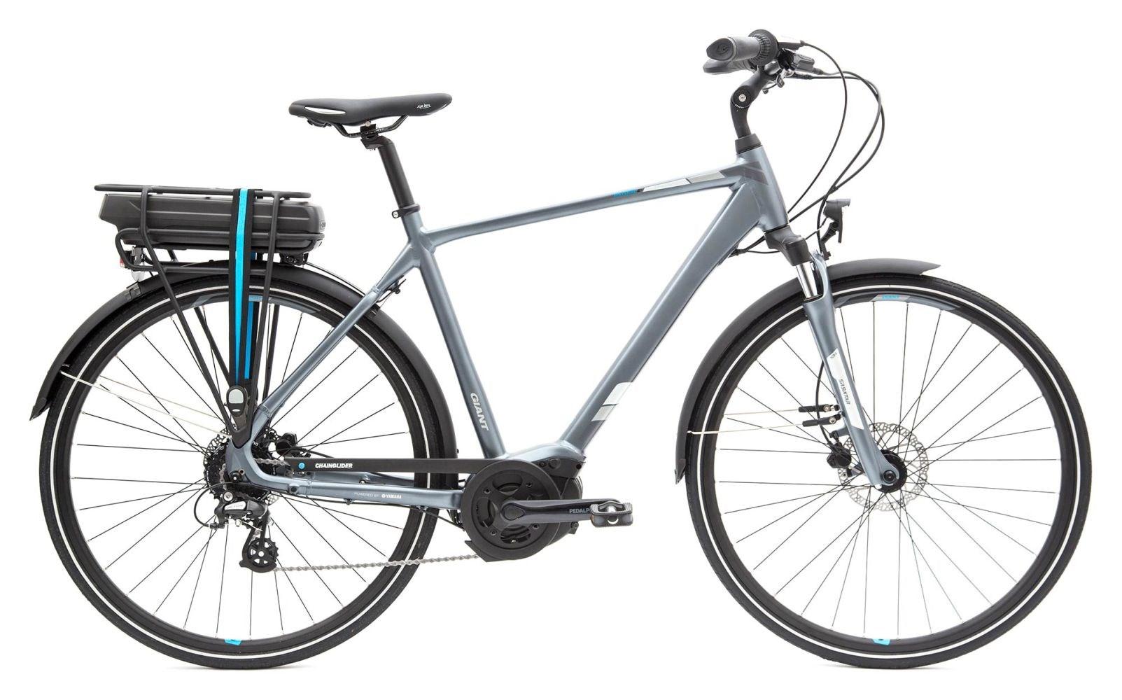 Giant Entour E+ 2 Hybrid E-Bike 2018 Steel Grey