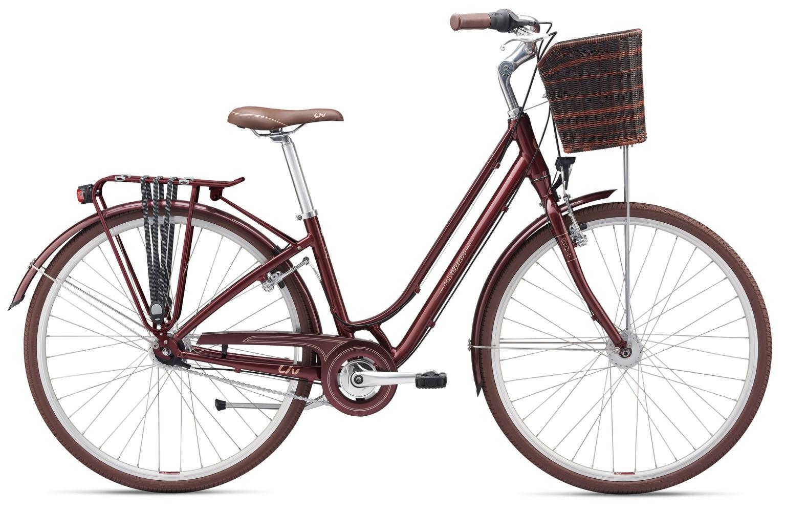 Liv Flourish 1 2019 Hybrid Bike Red Wine / Champagne