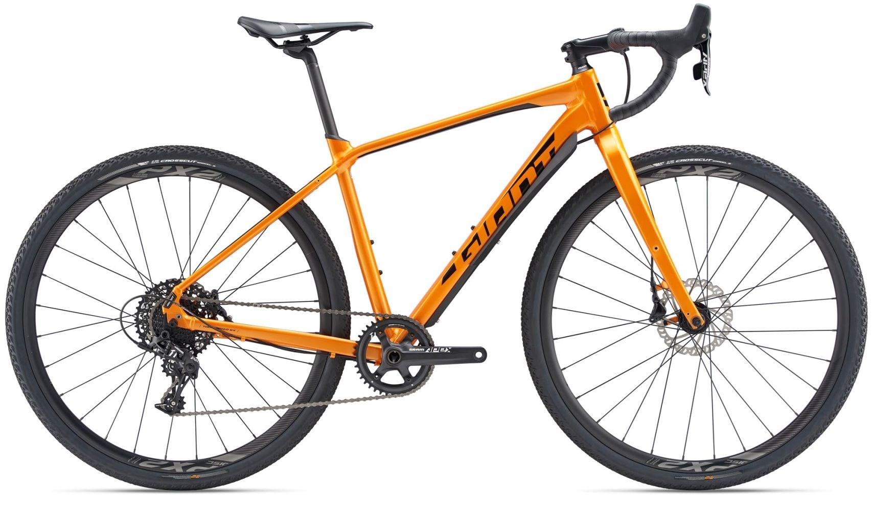 giant toughroad slr gx 0 2019 gravel bike metallic orange. Black Bedroom Furniture Sets. Home Design Ideas