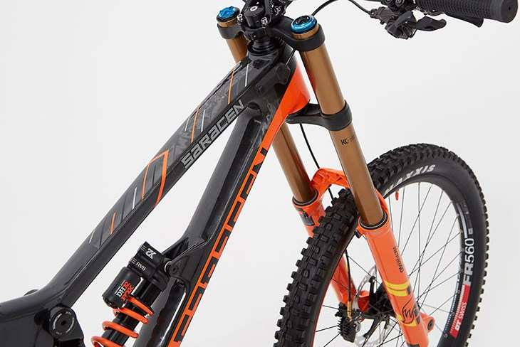f325f0fbd4b Saracen Myst Team Factory 2019 Mountain Bike Black / Orange £5,799.99