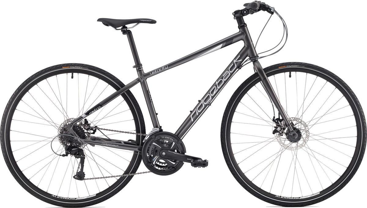 Ridgeback Velocity Hybrid Bike 2018 Dark Grey £434.99