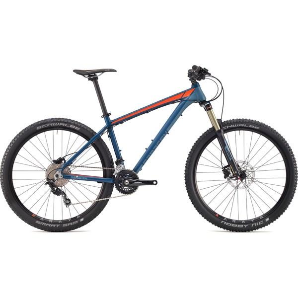 Trail Mountain Bikes >> Saracen Mantra Trail Mountain Bike 2017 Blue Orange